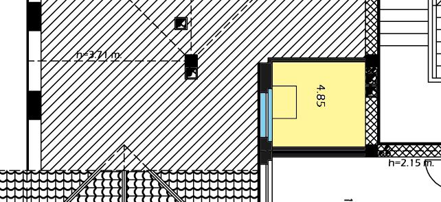 Planimetria Interna - Soppalco